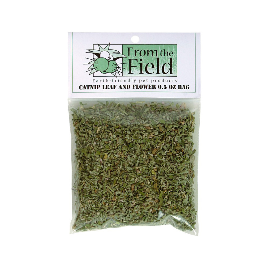 FROM THE FIELD LLC Mini-Max Catnip Leaf & Flower 0.2 OZ