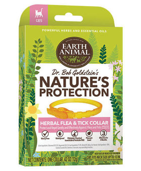 Earth Animal Flea & Tick Herbal Collar for Cats