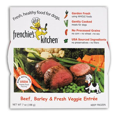 Frenchie's Kitchen Beef, Chicken & Turkey Gently Cooked Dog Food OLD
