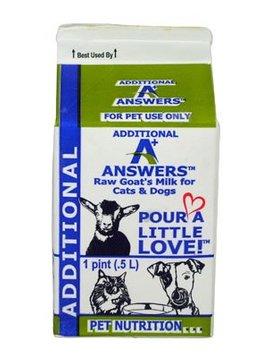 Answers Raw Goat Milk