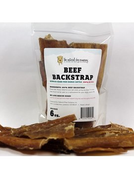 NATURAL DOG COMPANY Backstrap 6OZ