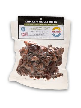 FRESH IS BEST (COMPANION NATURAL) Chicken Heart Bites 3 OZ