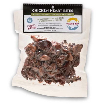 FRESH IS BEST (COMPANION NATURAL) Chicken Heart Bites 3 OZ