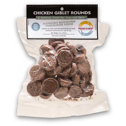 FRESH IS BEST (COMPANION NATURAL) Chicken Giblet Rounds 4 OZ