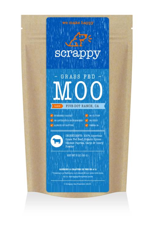 SCRAPPY FOR PETS Scrappy Jerky