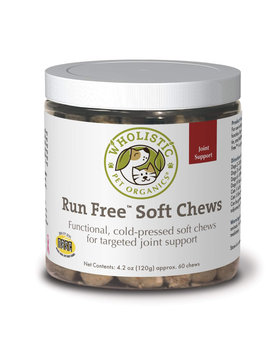 Wholistic Pet Run Free Soft Chews 60 CT