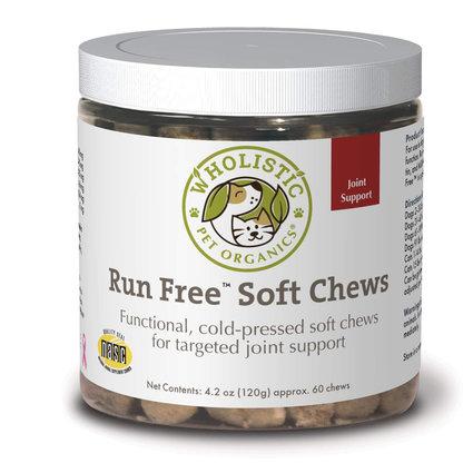 Wholistic Pet Run Free Soft Chews 60 CT