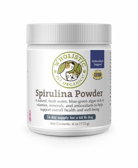 Wholistic Pet Spirulina 4 OZ