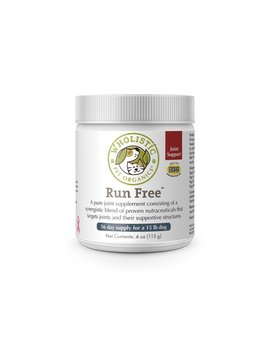 Wholistic Pet Run Free  4 OZ
