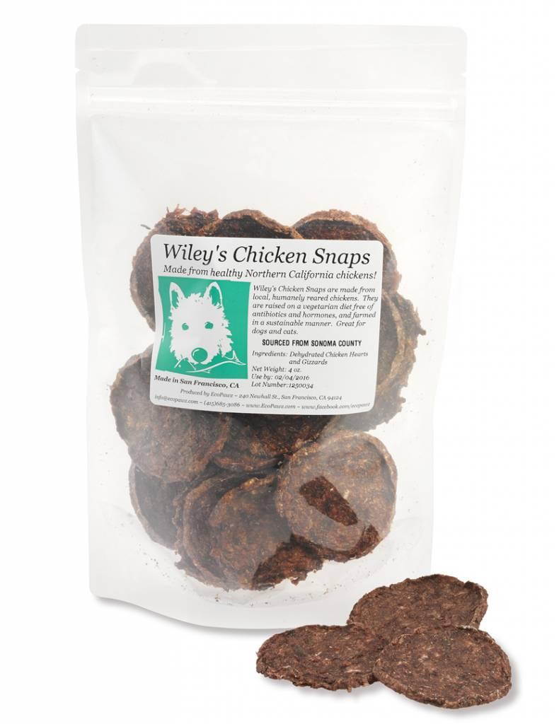 ECOPAWZ! Wiley's Chicken Snaps 4OZ