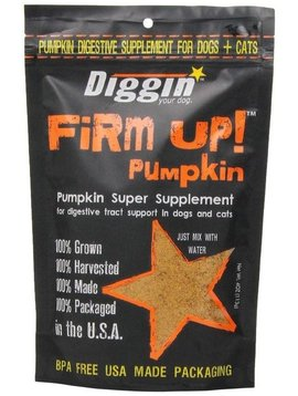 Diggin' Your Dog Firm Up! Pumpkin 4 OZ