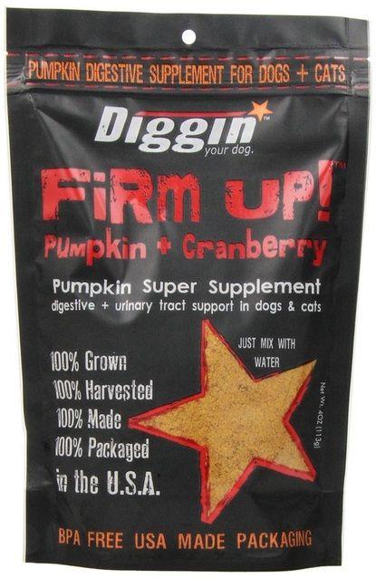 Diggin' Your Dog Firm Up! Pumpkin + Cranberry 4 OZ