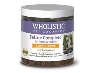 THE WHOLISTIC PET Wholistic Feline Complete Soft Chews 150 CT