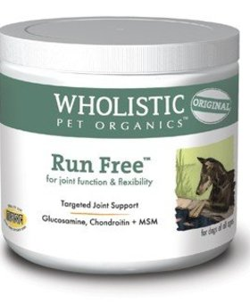 THE WHOLISTIC PET Wholistic Pet Run Free 8 OZ