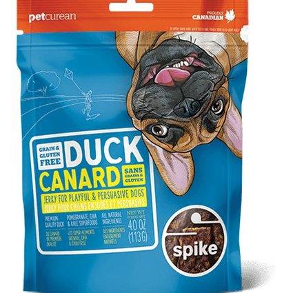 Spike Grain Free Duck Jerky - 4.0 OZ