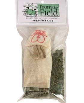 FROM THE FIELD LLC Refillable Hemp Mouse w/Catnip