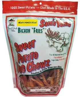 FRONT PORCH PETS Sam's Yams Bichon Fries 9 OZ