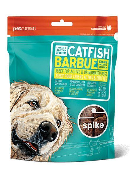 Spike Grain Free Catfish Jerky - 4.0 OZ