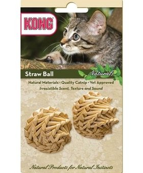 Kong Cat Naturals Straw Ball