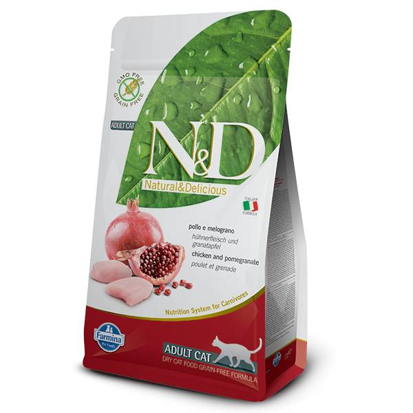 N&D Grain Free Dry Cat Food 3.3LB