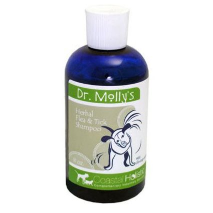 Dr. Molly's Mild Flea Shampoo for Cats & Dogs 8 OZ