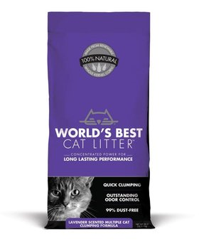 Worlds Best Litter Lavender