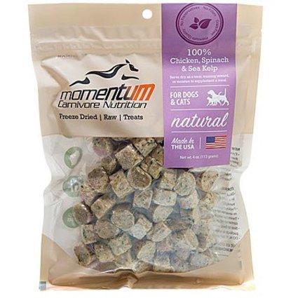 Momentum Carnivore Freeze Dried Treats 4 OZ.