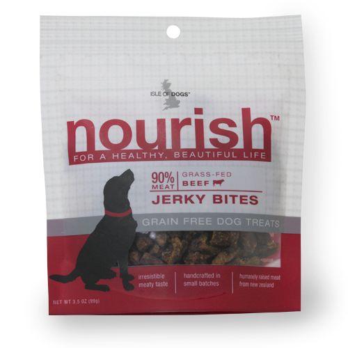 Nourish Jerky Bites