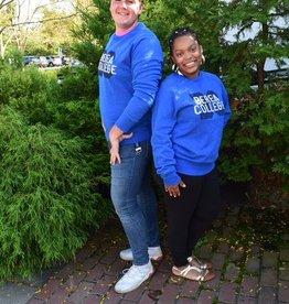 Campus Crew Crewneck, Blue, Berea College BC