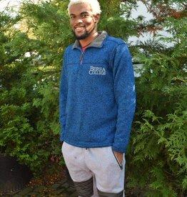 Artisans Pullover, Blue, 1/4 Zip, BC