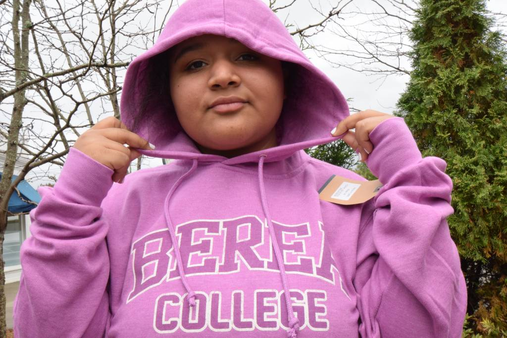 MV Sport Hoodie, Berea College, Berea Arched