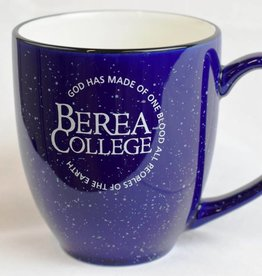 Mug, Speckled, Bistro, Circle Logo in White, 16oz.