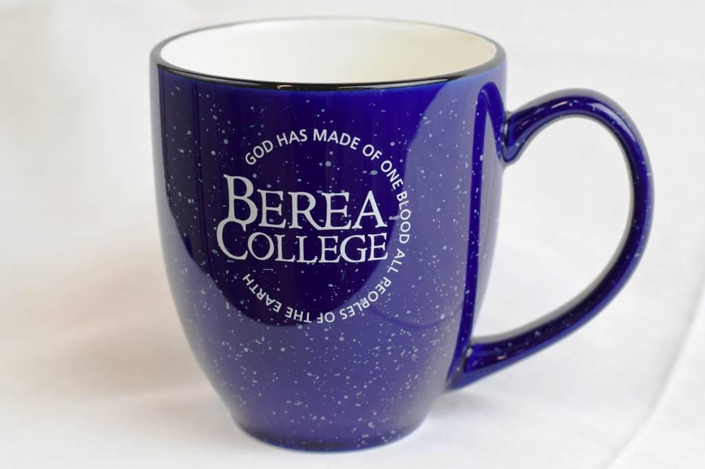 Mug, Speckled, Bistro, Circle Logo in White, 16oz.