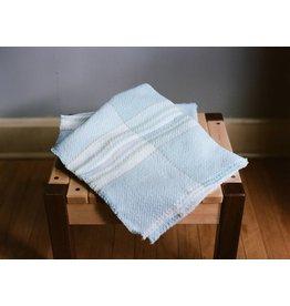 Berea College Crafts Baby Blanket Blue Plaid