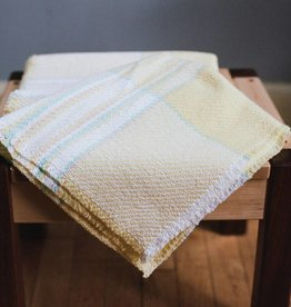 Berea College Crafts Baby Blanket Yellow Plaid