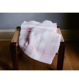 Berea College Crafts Baby Blanket Pink Plaid