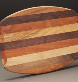 Berea College Crafts Cutting Board Boat Shape