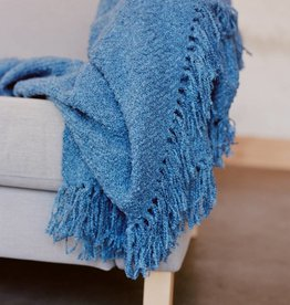 Berea College Crafts Cottage Throw Blue