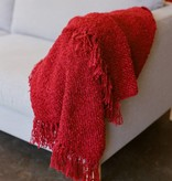 Berea College Crafts Cottage Throw Red