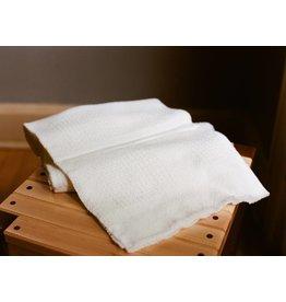 Berea College Crafts Baby Blanket Block White