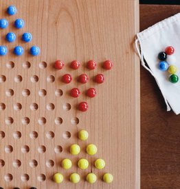 Berea College Crafts Marbles for Chinese checkers w/ bag