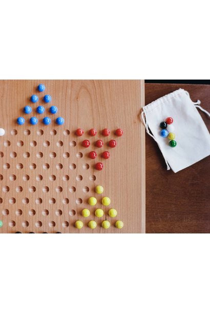 Marbles for Chinese checkers w/ bag