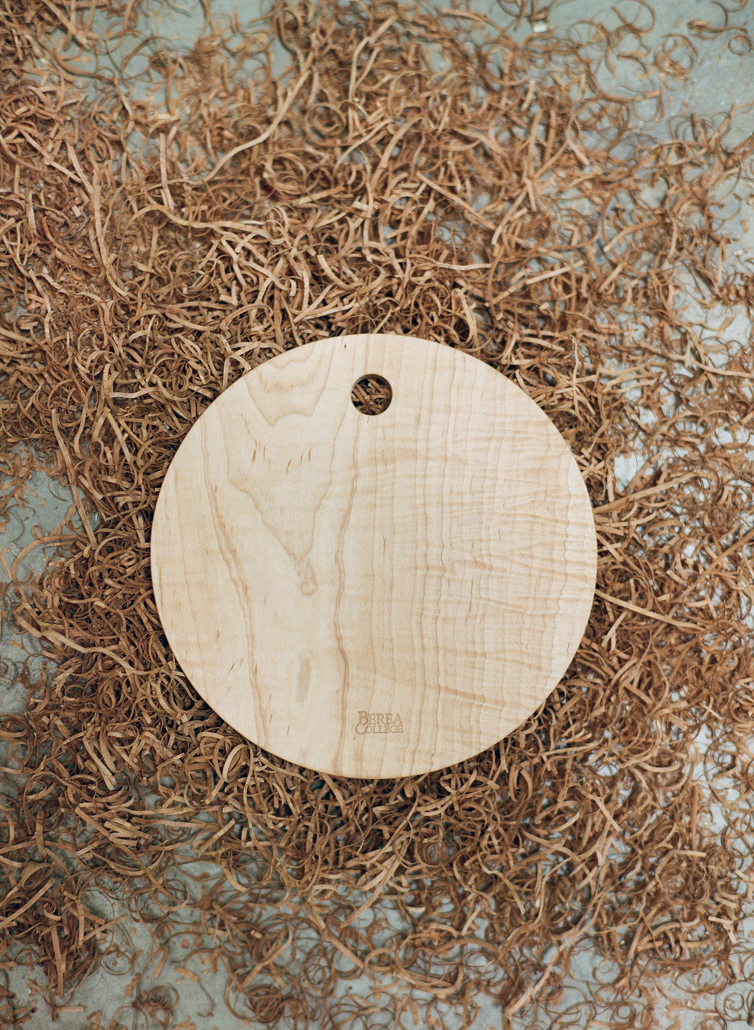 Berea College Crafts Cutting Disk, Large Maple