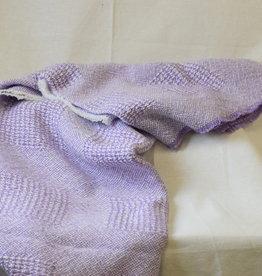 Berea College Crafts Baby Blanket Block Violet