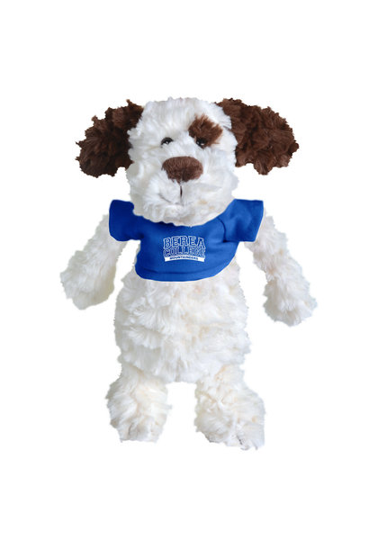 Plushie with Blue Berea College T-shirt