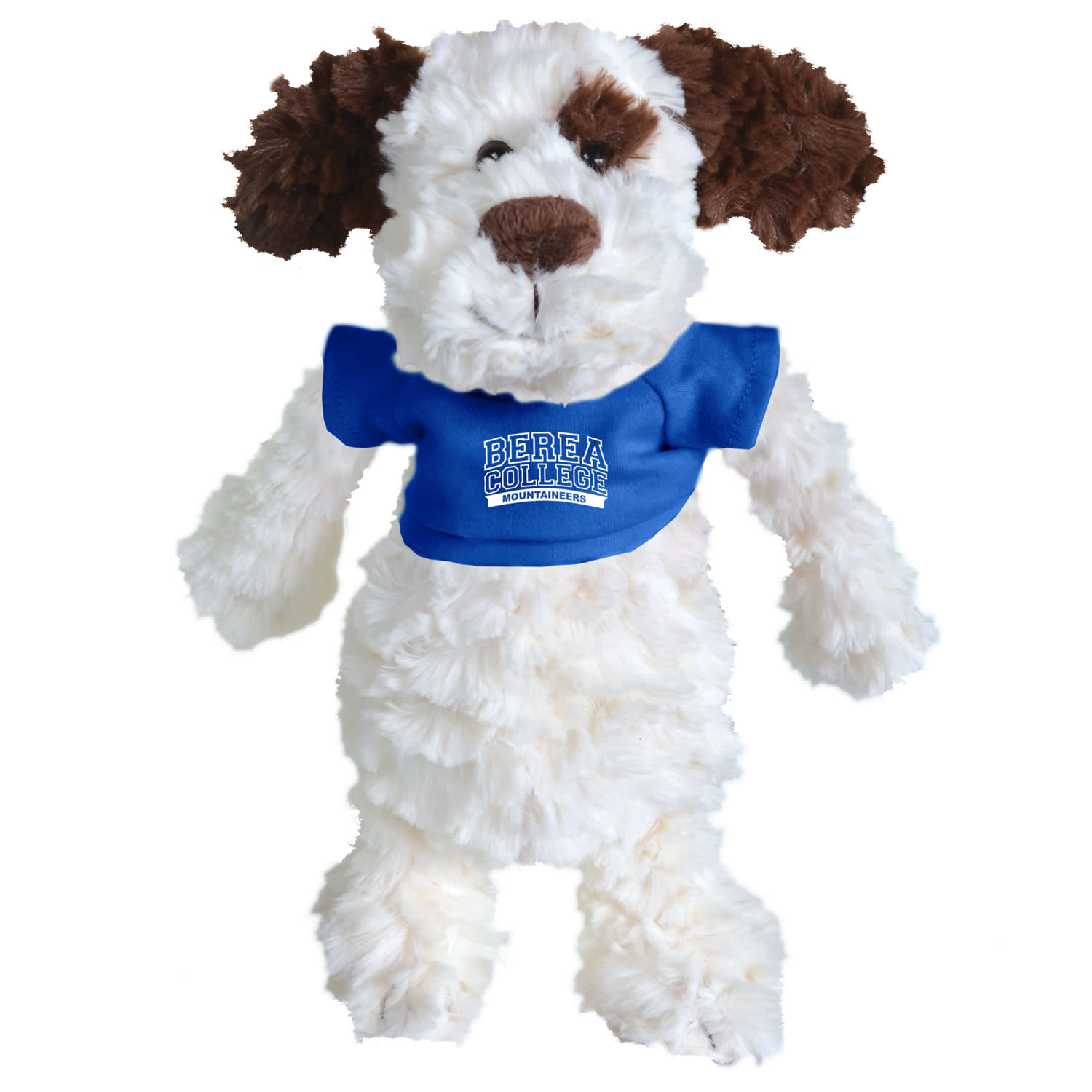 Plushie with Blue Berea College T-shirt-2