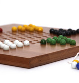 Berea College Crafts Chinese Checker Board W/Marbles