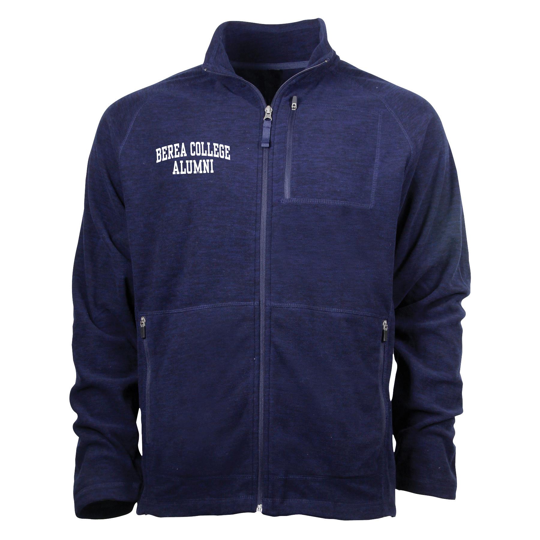 Heathered Navy Alumni Guide Jacket-1