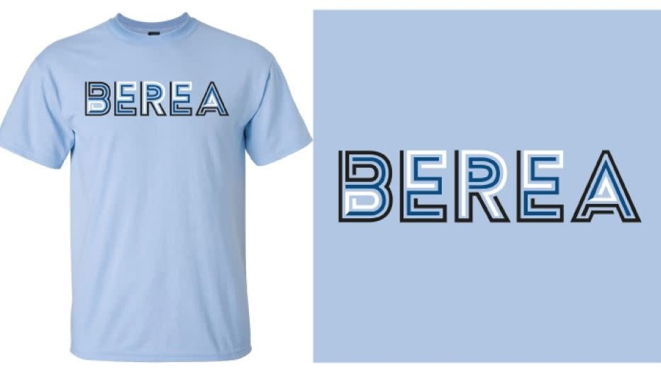 Light Blue Berea T- shirt-2