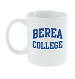 Mug, White, Berea College, 11oz